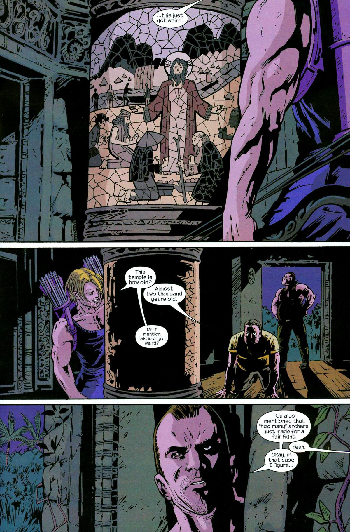 Hawkeye (2003) Issue #5 #5 - English 23