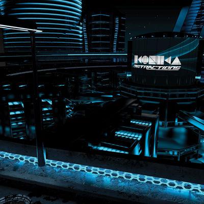 Ikonika - Distractions - Album Download, Itunes Cover, Official Cover, Album CD Cover Art, Tracklist