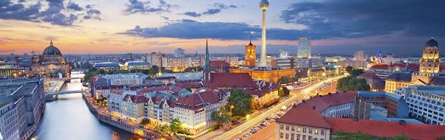 Berlim vista de cima