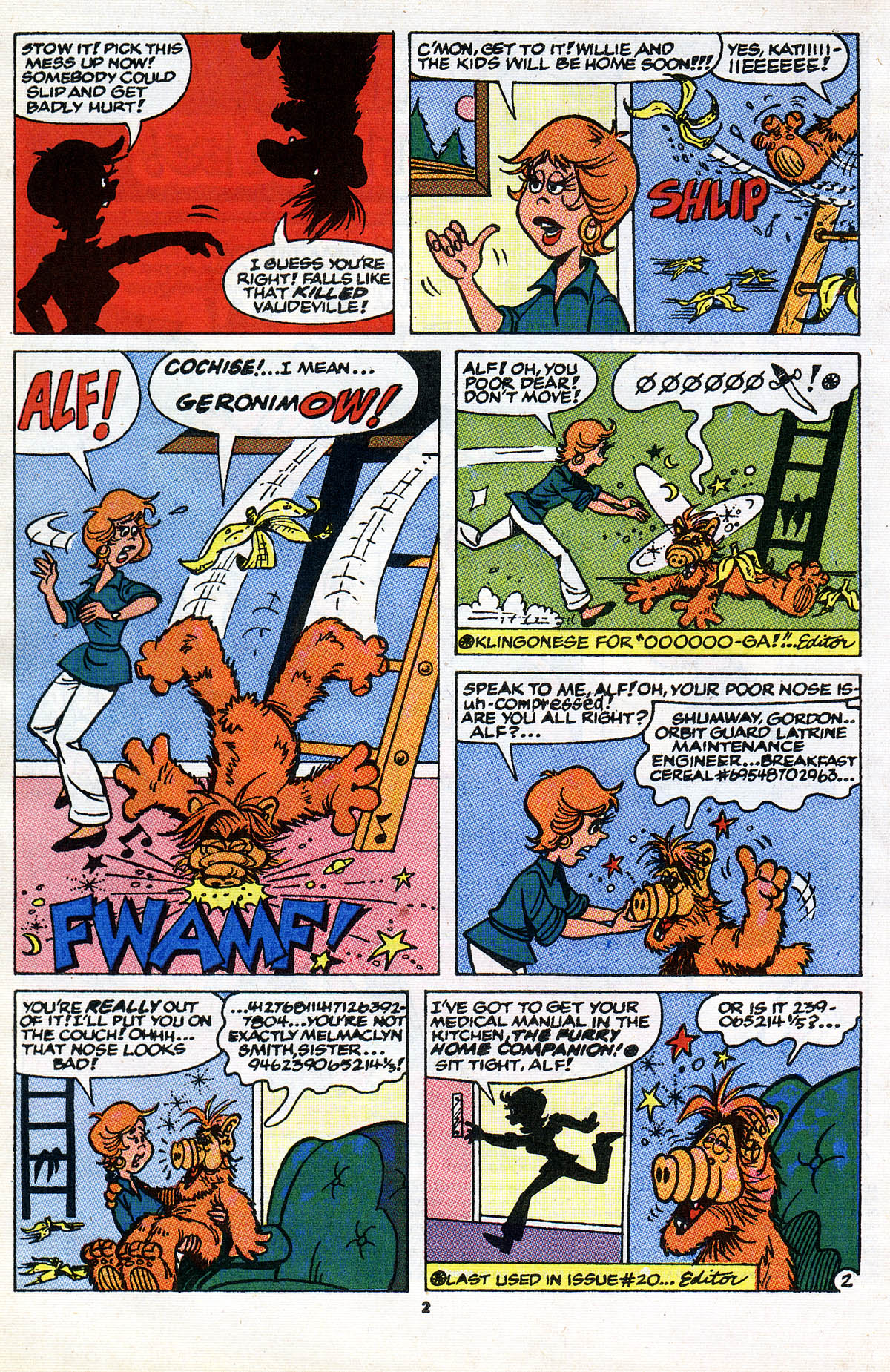 Read online ALF comic -  Issue #28 - 4