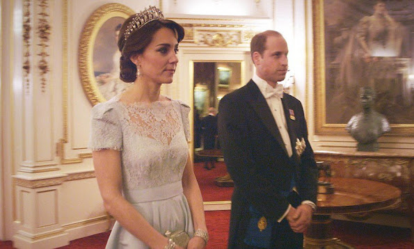 Kate Middleton Tiara, Duchess Catherine of Cambridge Tiara, Catherine, Duchess of Cambridge Tiara, Kate Middleton wore Alexander McQueen gown, Kate Middleton wore Alexander McQueen gown, style, jewelry, diamond