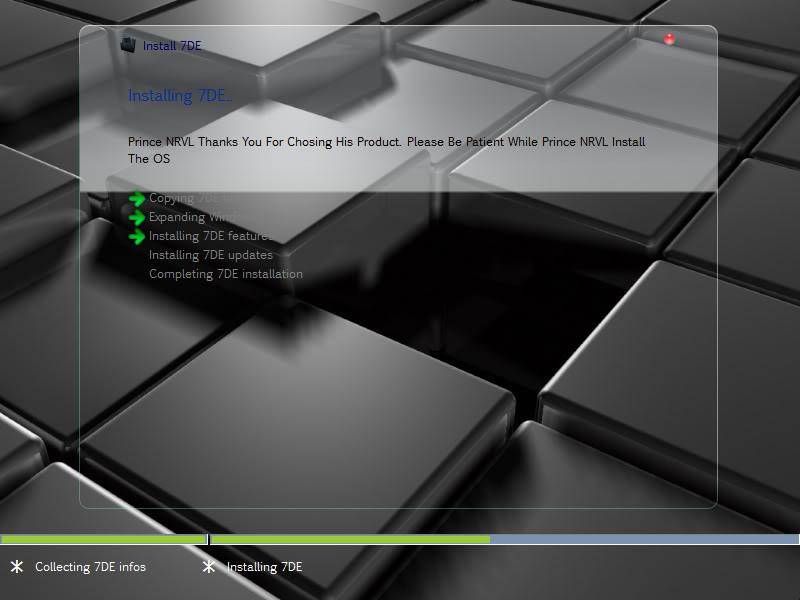 Windows 7 x64 dark edition
