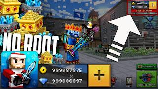 تحميل لعبة Pixel Gun 3D مهكرة للاندرويد (بدون فك الضغط)