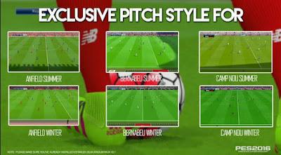 Download Stadium PES 2016 Terbaru Dengan Realistic Rumput Terlihat Nyata