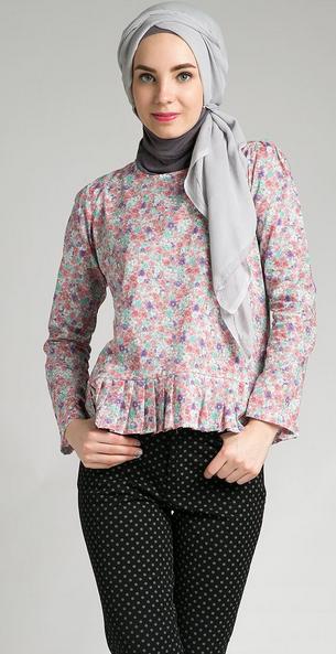 10 Model Baju Muslim Santai Modern Untuk Remaja Terbaru 2016