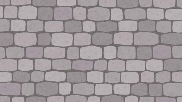 石垣のイラスト(背景素材)