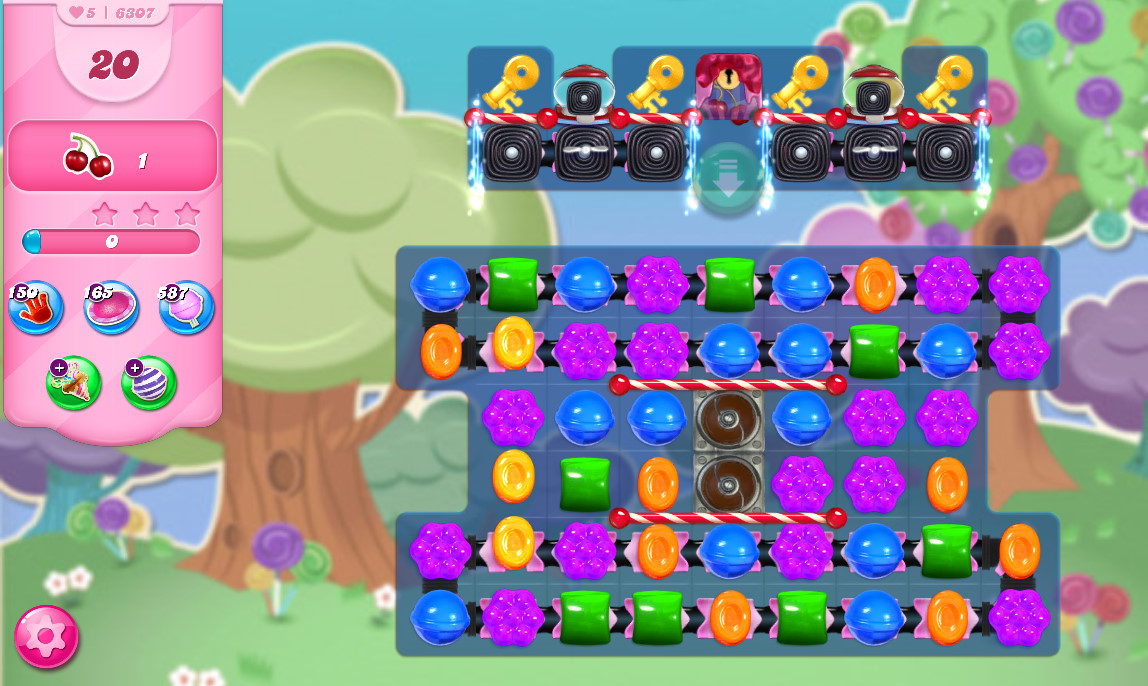Candy Crush Saga level 6307