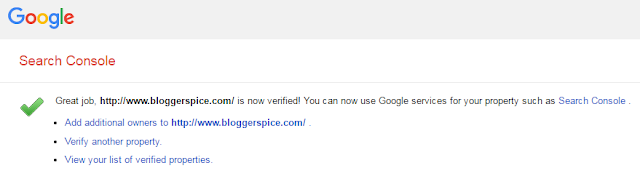 Google site verification