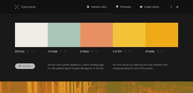3. Colormind - Simpel Namun Menarik