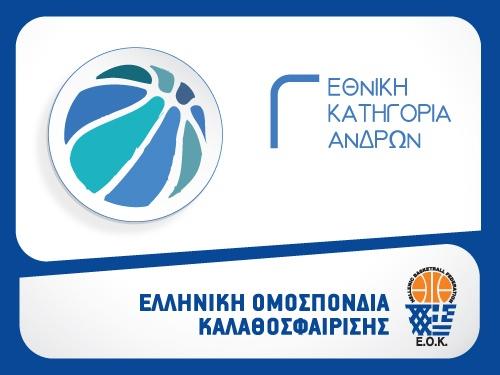Νωρίτερα η έναρξη του αγώνα Νικόπολη-Τιτάνες Παλαμά για την Γ΄ Εθνική ανδρών
