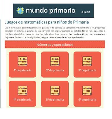http://www.mundoprimaria.com/juegos-matematicas/