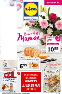 Catalogue lidl - 24 au 30 Mai 2017