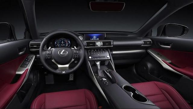 2017 Lexus IS200t F Sport Interior