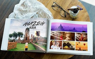 Print Album Gambar Mudah Dengan Photobook Malaysia