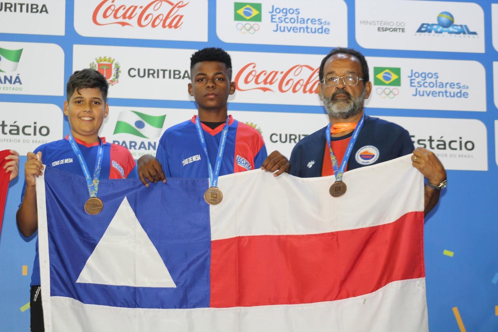 Jogos Escolares da Juventude 20178  Tênis de mesa dá primeira ... b745d4ae23a50