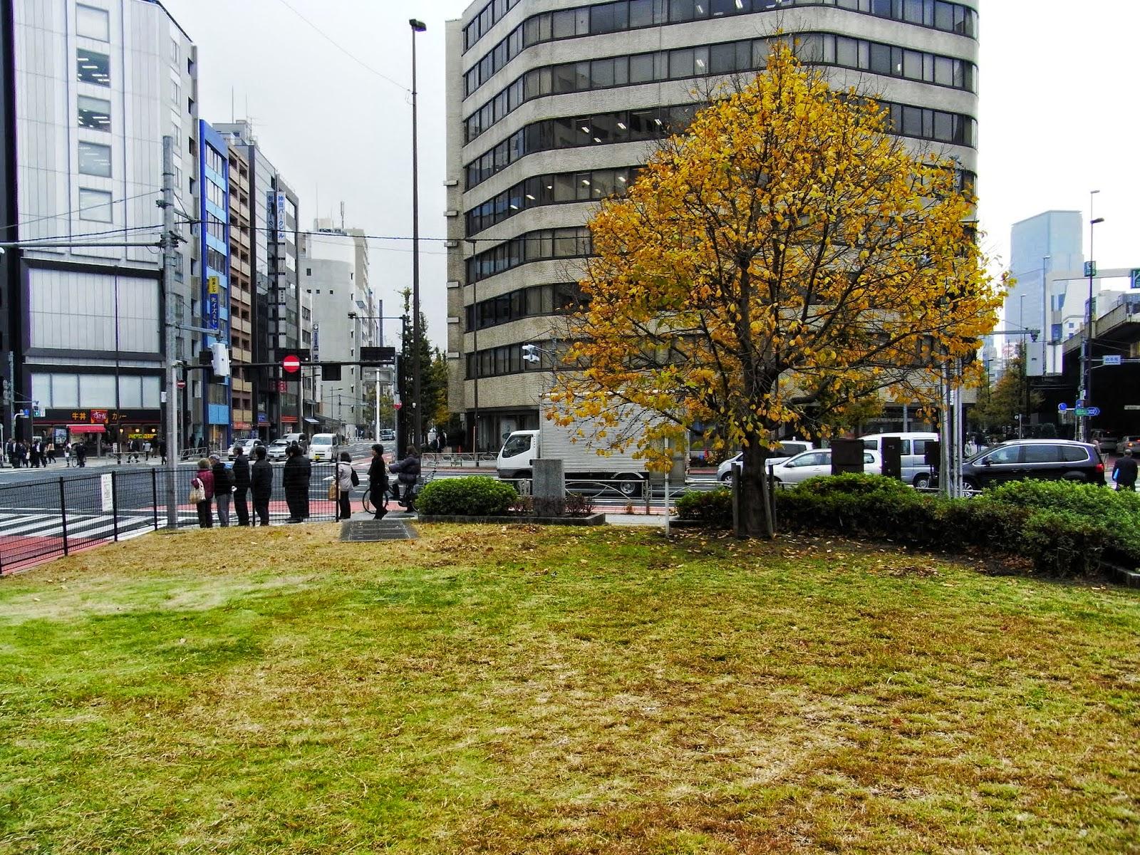 岩本町馬の水飲広場(東京都千代田区)
