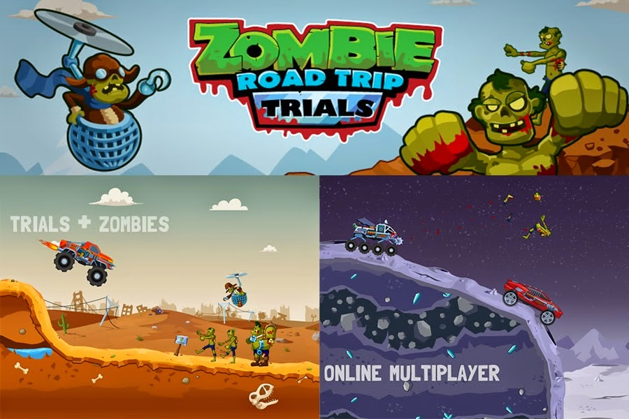 Zombie Road Trip Trials Is A Free Game Specof Com