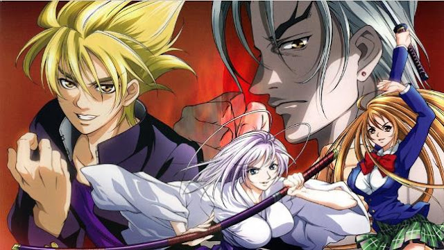Anime Action School Terbaik - Tenjou Tenge