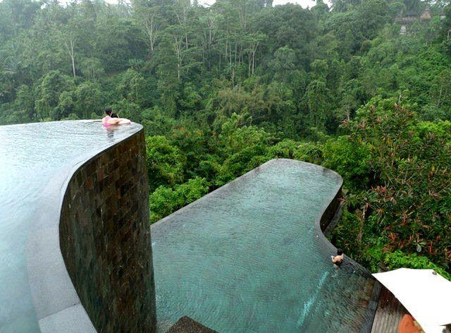 Espectacular piscina o alberca