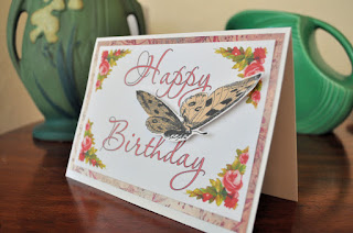 birthday card butterfly design project image