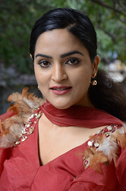 Indian Girl Sukrutha Wagle at Rama Chakkani Sita Movie Press Meet