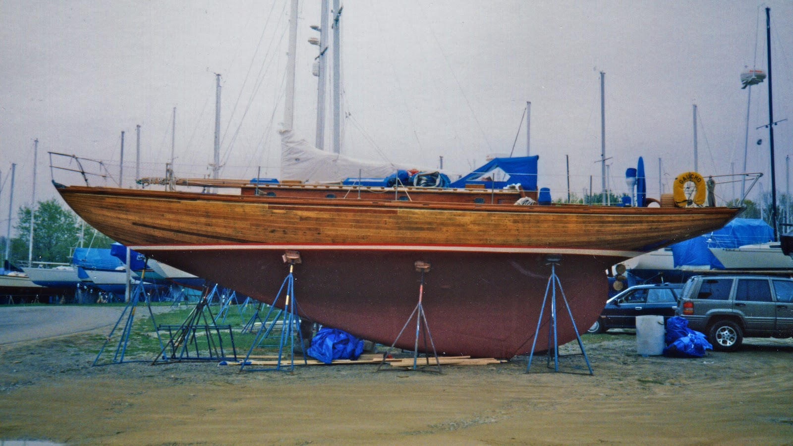Gaucho A Classic Wooden Yacht The Peregrine Sea