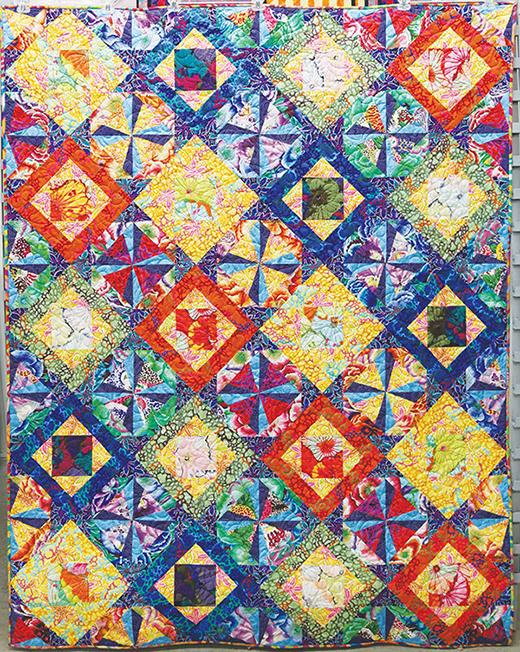 Topaz Quilt Free Pattern