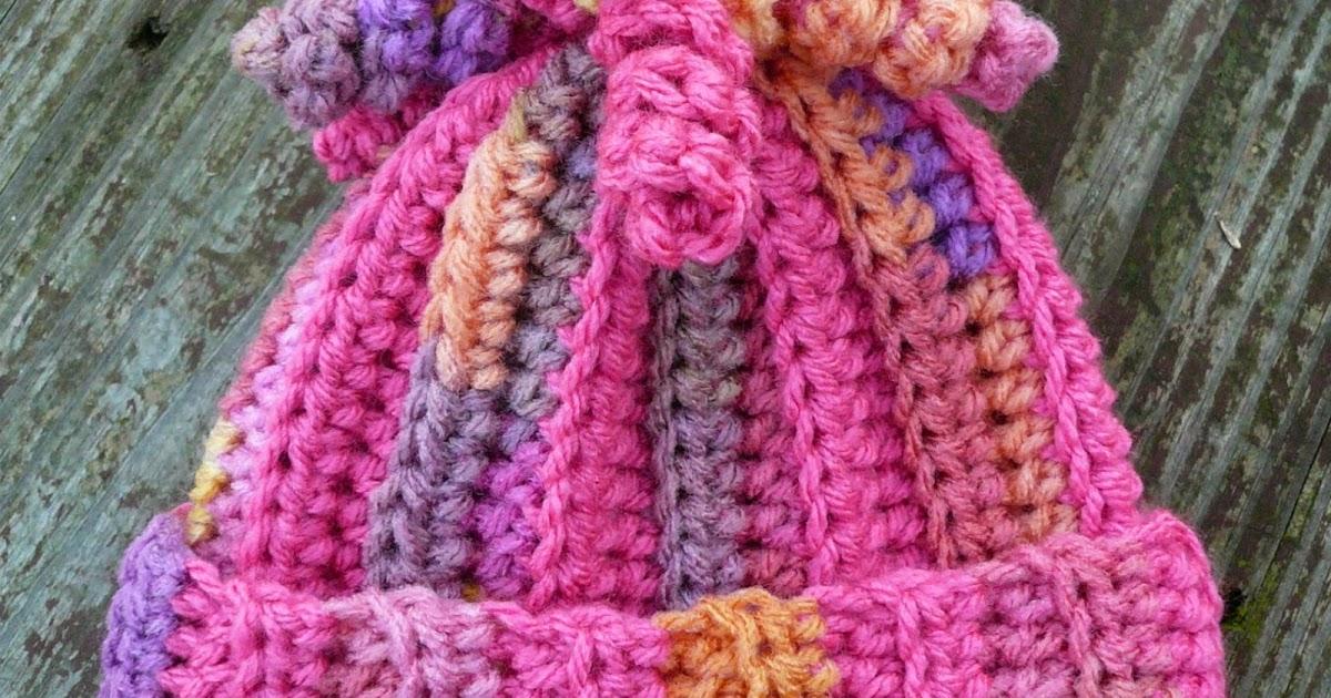 Shades of Gelato Crochet Beannie