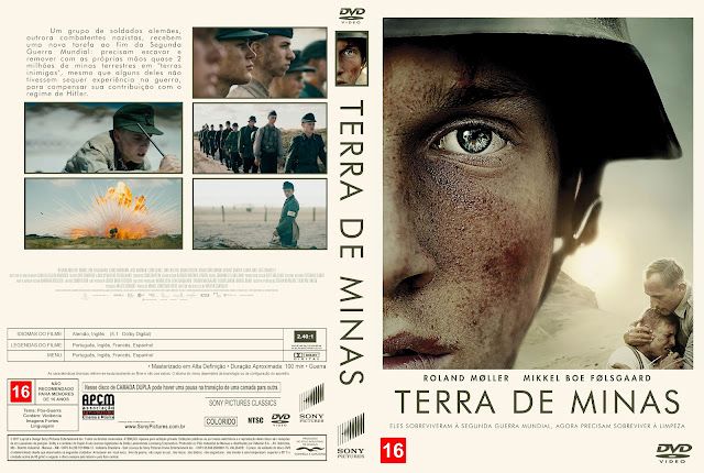 Capa DVD Terra de Minas [Custom]