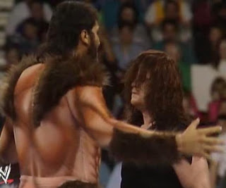 WWF/WWE ROYAL RUMBLE 1993 - Giant Gonzales debuts and confronts The Undertaker
