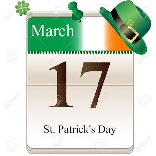 17 march saint patrick day