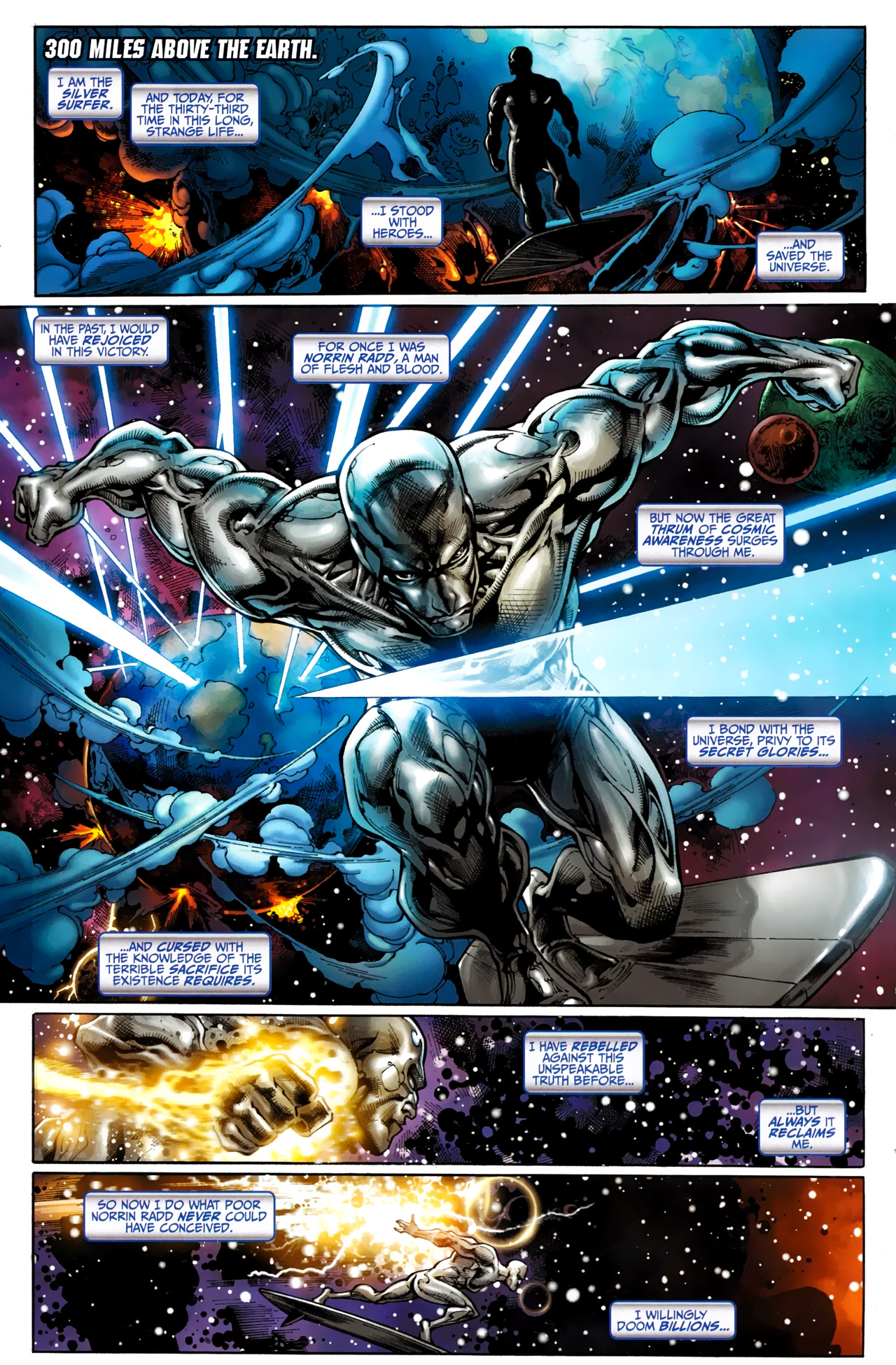 Read online Silver Surfer (2011) comic -  Issue #1 - 3