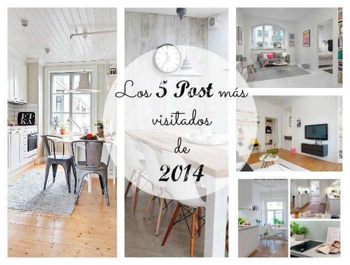 5 post de Decoración más visitados de 2014