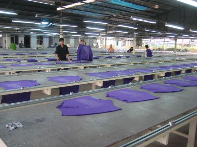 xưởng in áo thun đồng phục cao cấp
