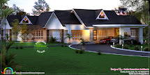 3d House Plan Elevation - Kerala Home Design And Floor Plans