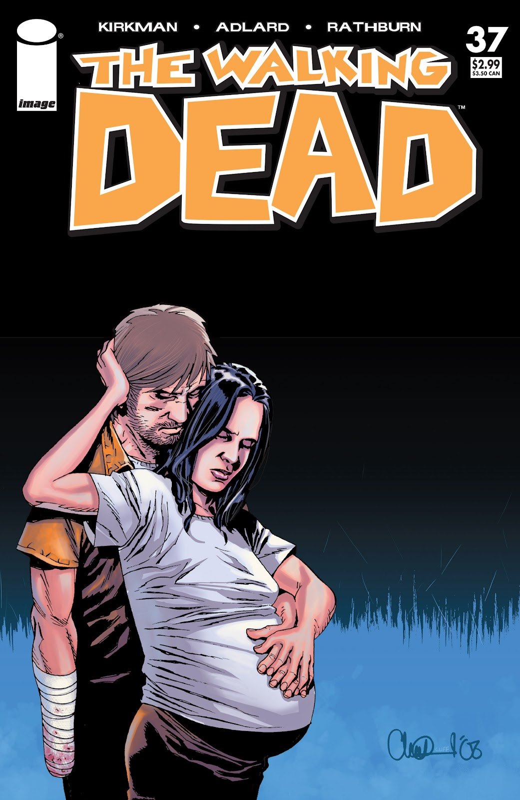 The Walking Dead issue 37 - Page 1