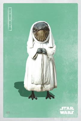 Star Wars: The Last Jedi Pop Icon The Light Side Movie Poster Set