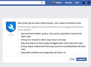 mengembalikan akun FB yang kena hack