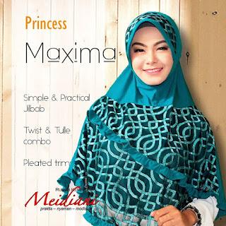 Jilbab Brokat Princess Maksima