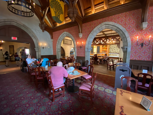 Relaxation Station Akershus Royal Banquet Hall Phased Reopening EPCOT Walt Disney World Resort