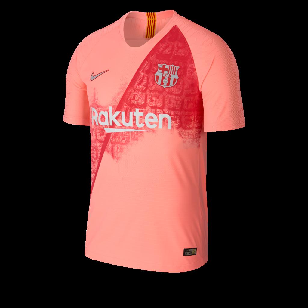 Il terzo kit Nike dell FC Barcelona 2018-19 celebra la città ... c32cff6b0