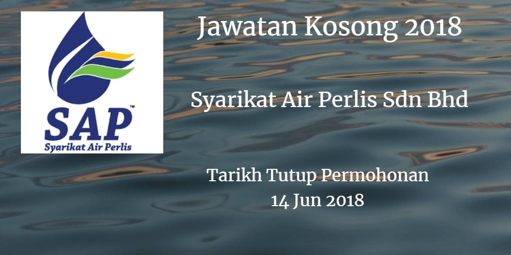 Jawatan Kosong Syarikat Air Perlis Sdn Bhd 14 Jun 2018