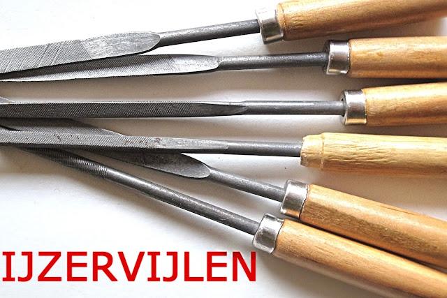 ijzervijlen - iron files
