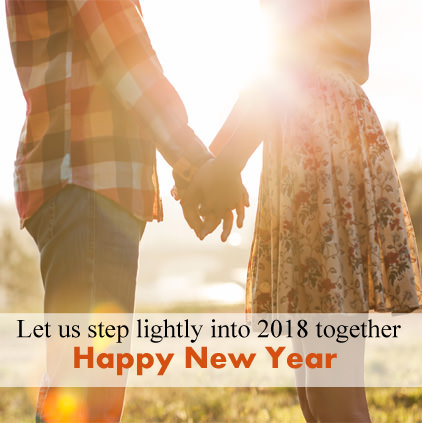 Happy new year love 2018 hd wallpaper