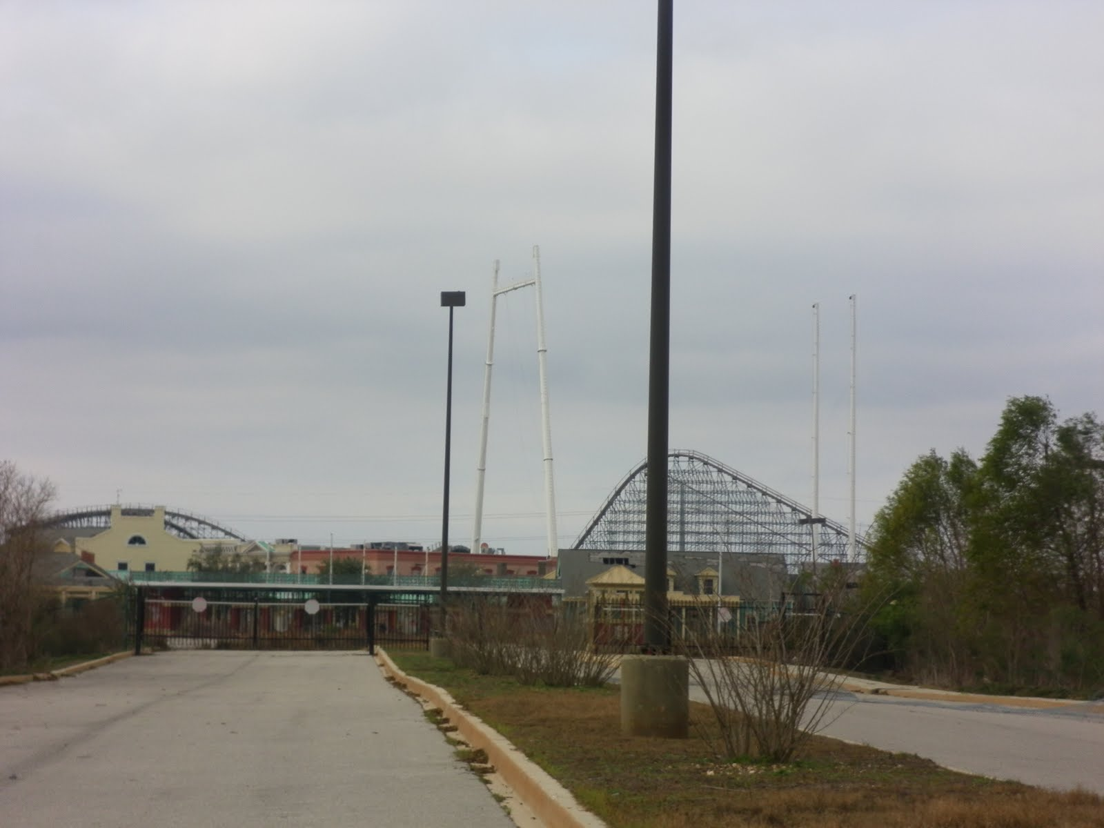 Six Flags Jazzland Louisiana And Texas Southern Malls And Retail Six Flags