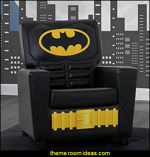 Children High Back Upholstered Chair, DC Comics Batman