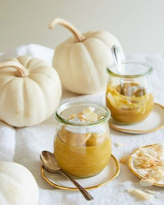 Vegan Pumpkin and Coconut Mousse Recipe