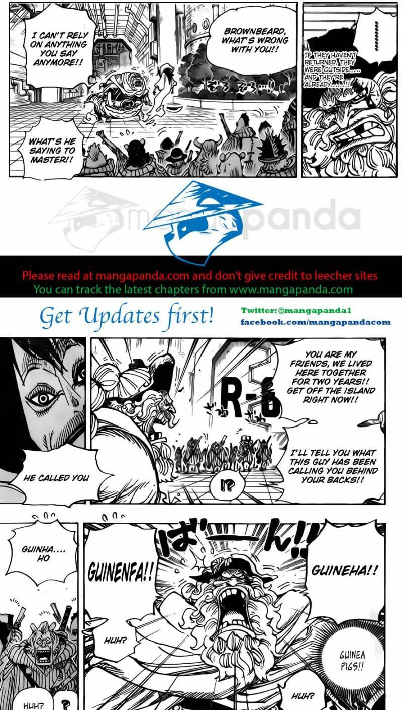 One Piece Ch 689: The Island Which Doesn't Seem to