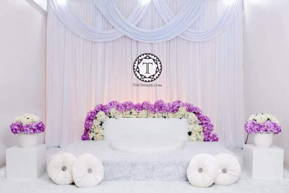22 Idea Pelamin Simple Tapi Lawa Giloss!
