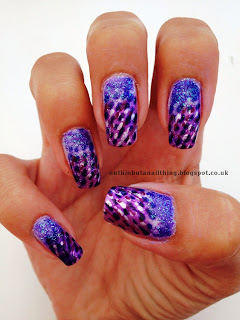 purple rain cloud nails nail art prince